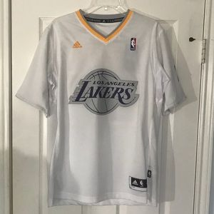 buy popular 863a1 11cd4 Adidas Los Angeles Lakers Christmas Jersey Kobe M NWT